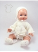 Juanín Baby cream knitted suit