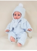 Juanín Baby with sky blue polar set