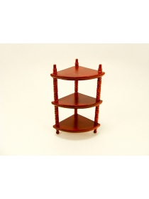 3-Tier Corner Shelf 1:12