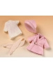Mini Mariquita pink raincoat set